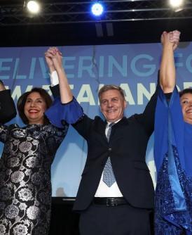 现任总理英格利希领导的国家党,成为国会第一大党。