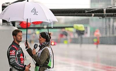 格罗斯被在老雨中面临于访时认为,以气候如此潮湿的情况下,F1组委会不拖欠开始意大利站之排位赛。