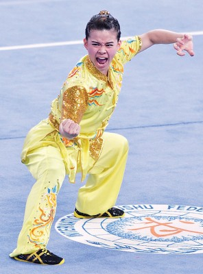 在上月世大运勇摘银牌的陈昌敏,如今获选进入世锦赛大马阵容。