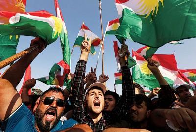 联合国安理会警告,公投将令伊拉克陷入动荡。(法新社照片)