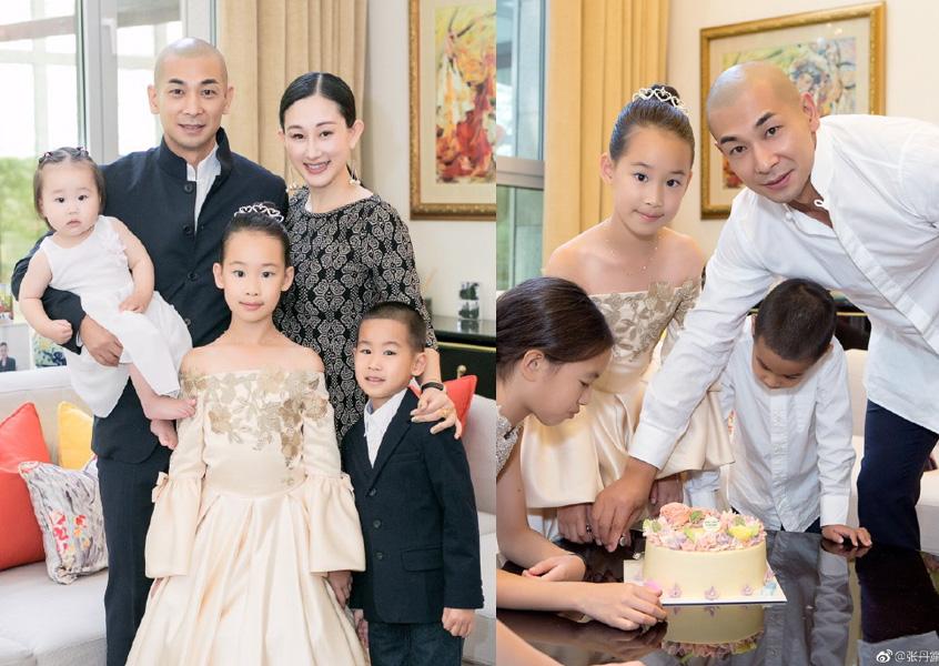赵文卓连带赶路回家,只为了替大女儿庆生。