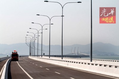 槟二桥将于本月14日午夜12时至隔天早上10时暂时关闭。