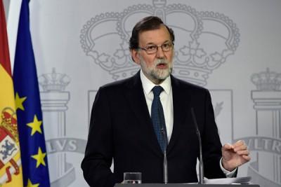 首相拉霍伊声明,政府不会就任何违法行为谈判。(法新社照片)