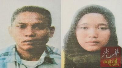 印尼籍男嫌犯卡斯纳威、印尼籍女嫌犯央亚。