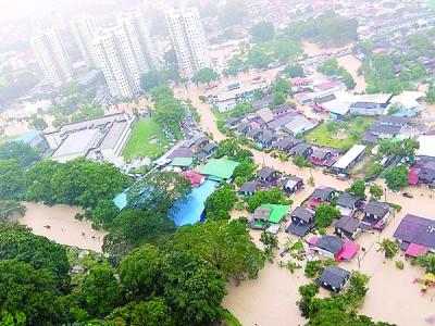 置身山边的发林天德园与垄尾是915水灾时受灾最要紧的地域。