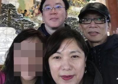 3名死者合照:王雪红(前)、葛世强(后左)、李志强(后右)。