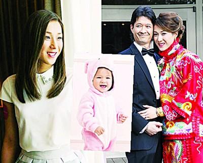 钟嘉欣老公Jeremy希望多生3个小朋友。