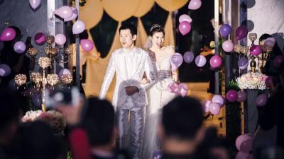秦雯彬和黄耀胜囍宴,诚邀许多城中知名人士见证一对新人的幸福告白。