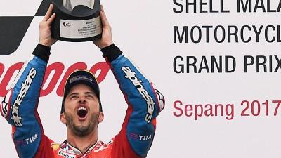 多威兹奥索在雪帮站不但成功卫冕,也一举坏了本田Repsol队西班牙车手马奎兹实现提前登上本赛季世界冠军宝座的美梦。