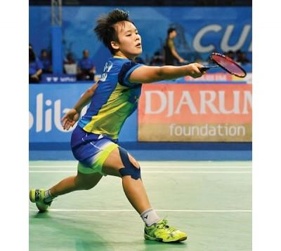 吴堇溦吞下本届世青羽第二败,都是输吃韩悦,随着无缘冠军,女单赛止步4愈。