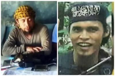 哈比伦(左)及奥马马巫德(右)在枪战中身亡。