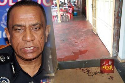 卡利:武吉甘蜜和平路一间咖啡店发生的枪击案,犯罪动机相信是与毒品有关。