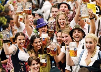 """在过去有不少""""德国啤酒节""""(Oktoberfest)在国内举办。(档案照)"""