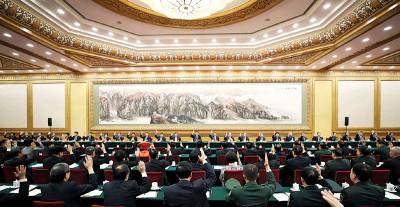 中共十九大正在北京举行。(新华社照片)