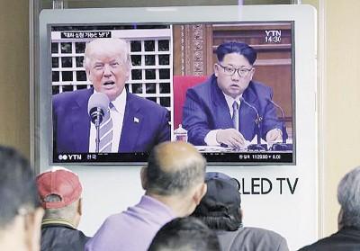 金正恩多次试射导弹,遭联合国制裁。