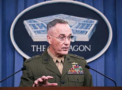 邓福德否认集结航母针对朝鲜。