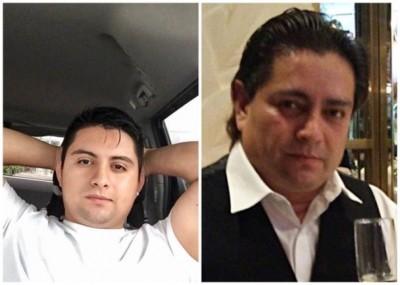卡洛斯(左)及约瑟夫(右)被发现吸毒过量身亡。(互联网)