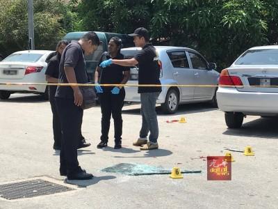 公安部以未车之假车牌上找获指纹,比晚于吉隆坡蕉赖及柔佛州将涉案的8何谓匪徒逮捕。