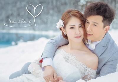 邓健泓和石咏莉拍拖5年,终于修成正果。
