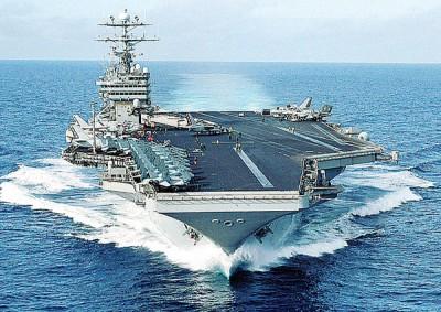 尼米兹号完成在中东的任务,现位于第7舰队的巡防区域。