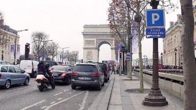 巴黎市政府期待减少碳排放。