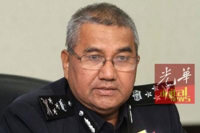 """全国总警长丹斯里弗兹说,警方坚决不比准""""爱马来西亚,反盗贼统治""""集会。"""