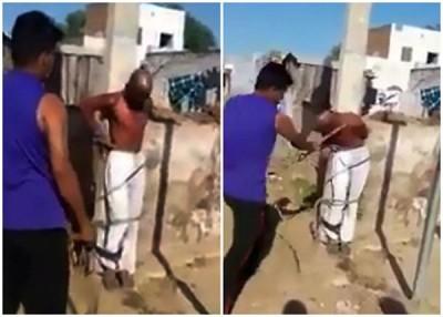 男子因吃指意图强暴女童而吃鞭打。