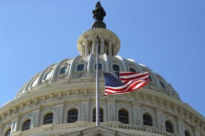 特朗普发号施令联邦政府下半旗致哀。(法新社照片)