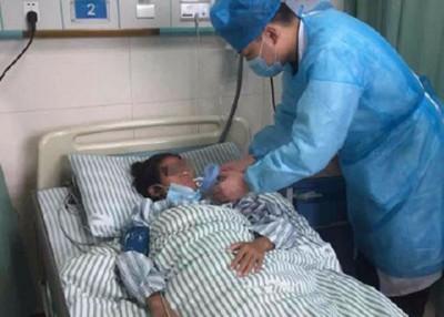 何苗接受肾移植手术后,目前恢复良好。