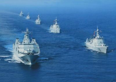 中国海军明年将与东盟海军举行首次联合海上演习。