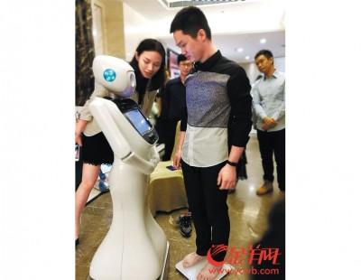 机器人小护士服务慢性病人。