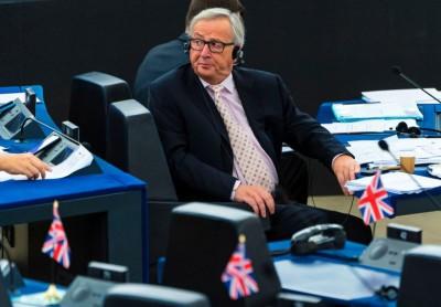 容克警告欧盟会有出现更多裂痕的危险。