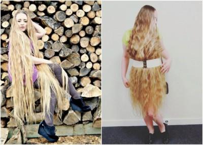 库尔奇把头发当作衣饰般装饰。