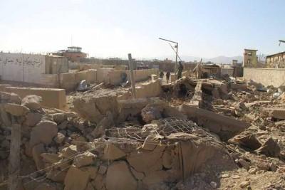 爆炸威力强大,警官培训中心夷为平地。