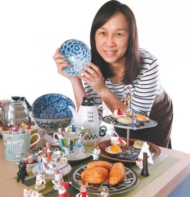 有着巧思创意的美仪,对餐桌美学有独一无二的天赋,经她搭配的美馔与食器,都有一种愉悦心情的意境。