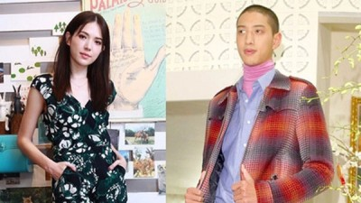 许玮甯(左图)被拍到和摄影师刘又年(右图)疑似交往中。(合成图片)