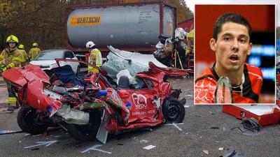 艾力梅春秋斯是当过去德国训练中心的旅途于货车撞上。