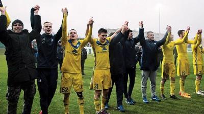 伯里索夫连续第12次拿到白俄罗斯超级联赛冠军。