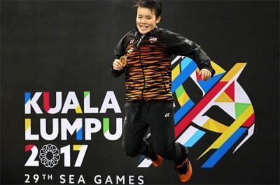 吴堇溦在夺得今年吉隆坡东运会金牌后忙着准备SPM考试,如今她将可专注明年赛事。