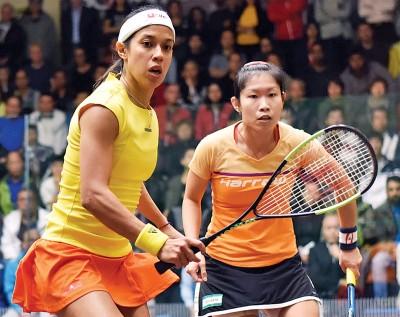 妮歌(左),欧咏芝(右)。