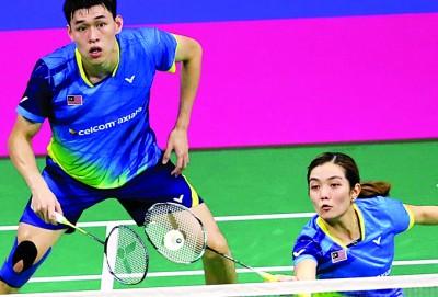 陈健铭/赖沛君必须加紧刻苦训练,以便能以最佳状态出击超级赛总决赛。