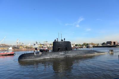 圣胡安号失联多天后,又起新信息。阿根廷政府声称收到潜艇的求救讯号。(法新社照片)