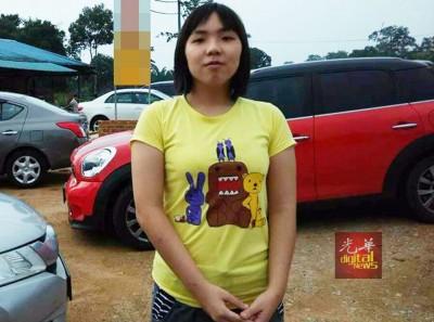 失踪女生张曼琪。