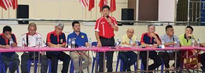 召集人兼临时主席梁亚丁表示,一旦义消被接管,义消将失去自主权。