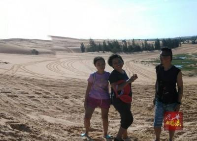 一家三口今年6月到越南游玩,此趟也是家人最后一趟旅程。