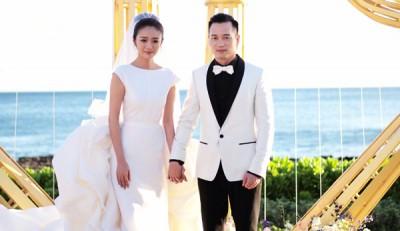 安以轩今年3月和澳门百亿CEO陈荣炼结婚后,分别在夏威夷跟台北宴客,两人婚后过得恩爱甜蜜。