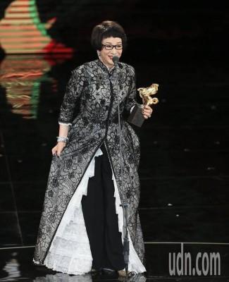 徐枫获终身成就奖。