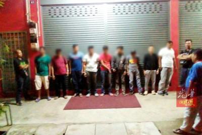 本同反毒机构展开取缔瘾君子行动,14人涉及吸毒被捕。
