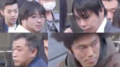 """4号称素不相识的中年男子组成""""痴汉集团"""",相约在JR埼京线的火车上对女乘客上下其手。"""