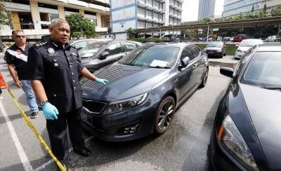 莫哈末扎尼:警方找回9辆失车。